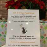 A Cat Clinic annual Holiday Pet Food Drive
