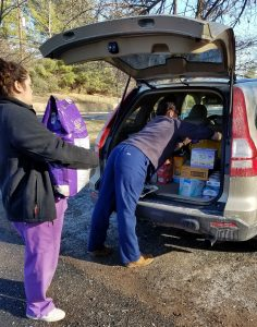 A Cat Clinic hosted annual Holiday Pet Food Drive for AWLMC