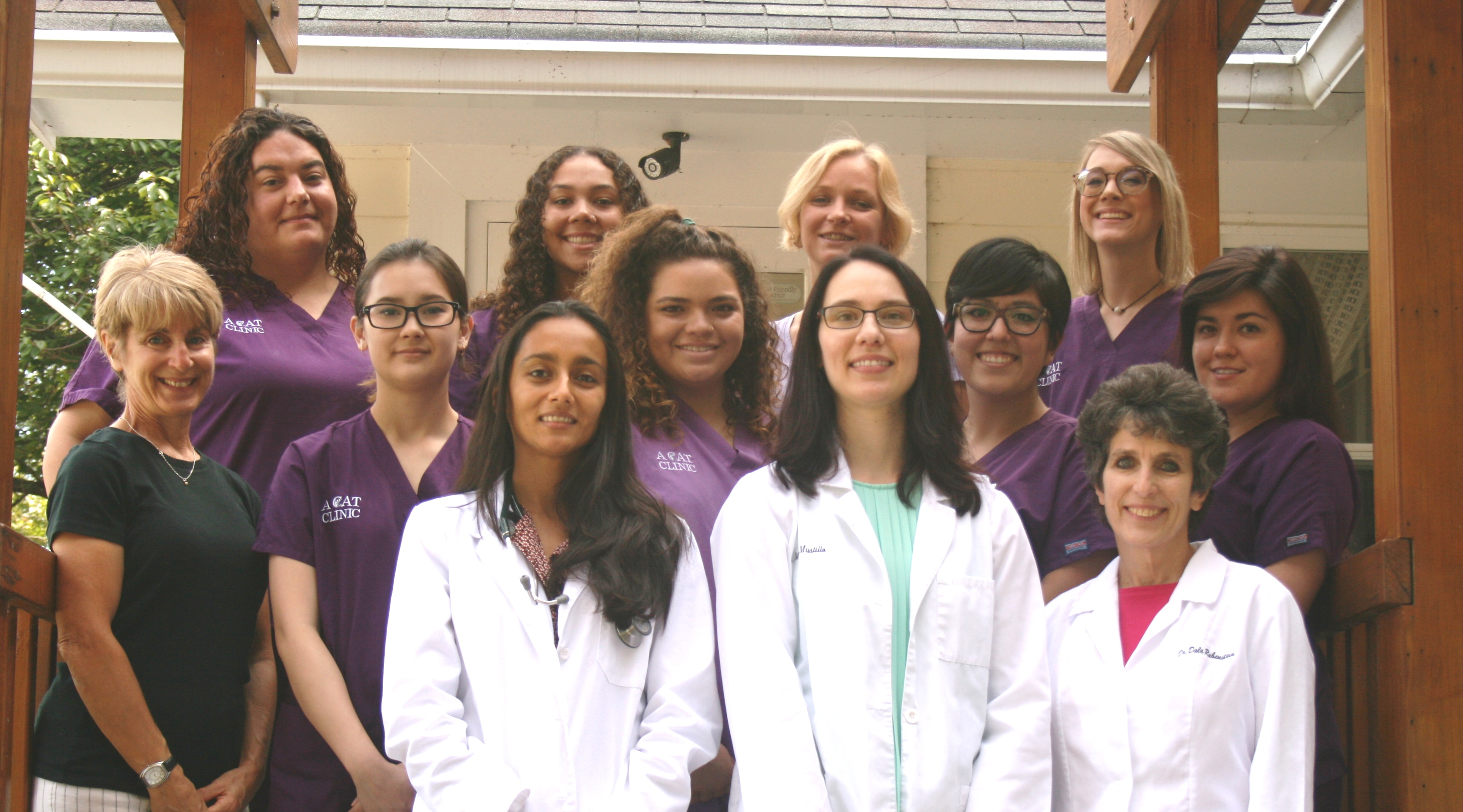 Our Veterinary Team In Germantown Md A Cat Clinic